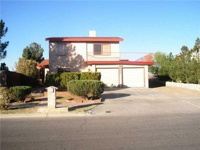 El Paso Single Family Home For Sale: 9409 Louvre Drive