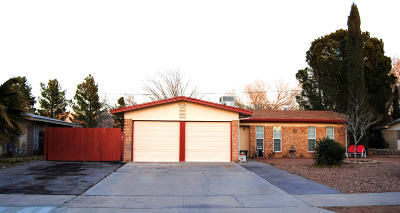 El Paso Single Family Home For Sale: 4233 Siete Leguas Road