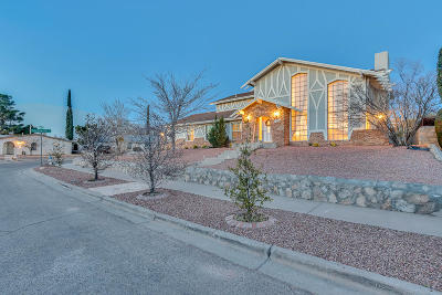 El Paso Single Family Home For Sale: 332 Windrose Court