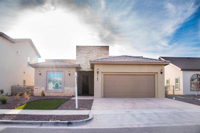 El Paso Single Family Home For Sale: 3143 Java Chip Place
