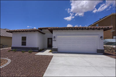 El Paso Single Family Home For Sale: 7889 Enchanted Range Drive