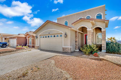 El Paso Single Family Home For Sale: 2861 Sinking Rock Place