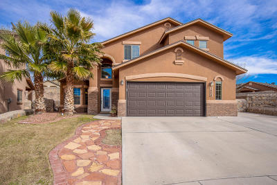 El Paso Single Family Home For Sale: 1504 Nopales Lane