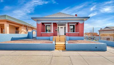 El Paso Single Family Home For Sale: 1810 E Rio Grande Avenue