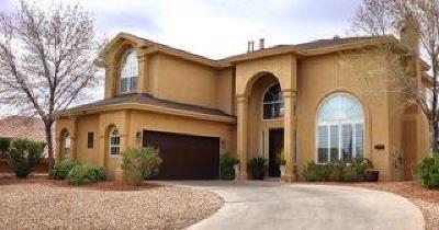 El Paso Single Family Home For Sale: 1409 Maple Ridge Way