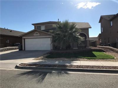 El Paso Single Family Home For Sale: 1517 Nopales Lane