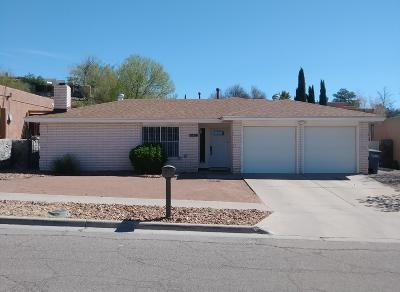 El Paso Single Family Home For Sale: 5534 Beth View Drive