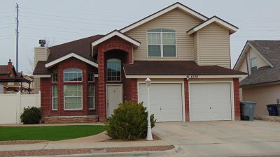 El Paso Single Family Home For Sale: 6138 Night Fall Place