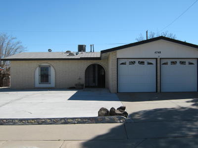 Single Family Home For Sale: 4748 Tumbleweed Avenue