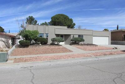 El Paso Single Family Home For Sale: 6921 Oveja Avenue