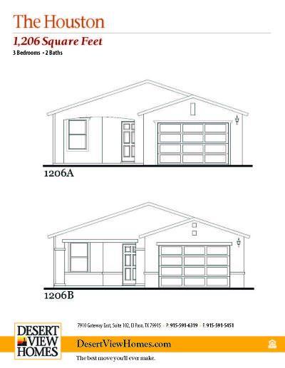 Horizon City Single Family Home For Sale: 924 Talavera