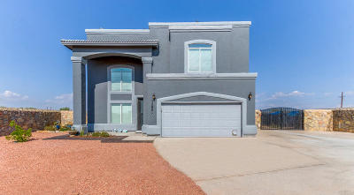El Paso Single Family Home For Sale: 12953 Hueco End