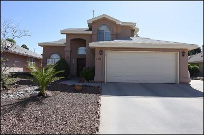 El Paso Single Family Home For Sale: 908 Tecate Place