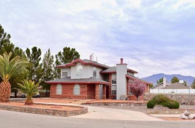 El Paso Single Family Home For Sale: 5600 Saplinas Road