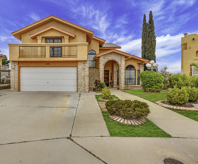 Vista Hills Single Family Home For Sale: 1805 Apple Gate Way