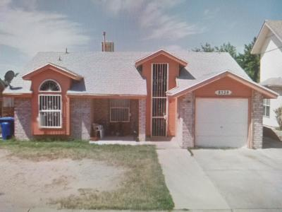 El Paso Single Family Home For Sale: 8528 Euphrates Drive
