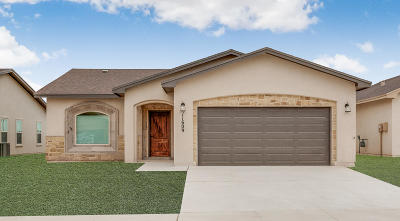 El Paso Single Family Home For Sale: 11616 Flor Achillea