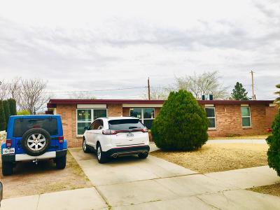 El Paso Single Family Home For Sale: 8155 Lomita Drive