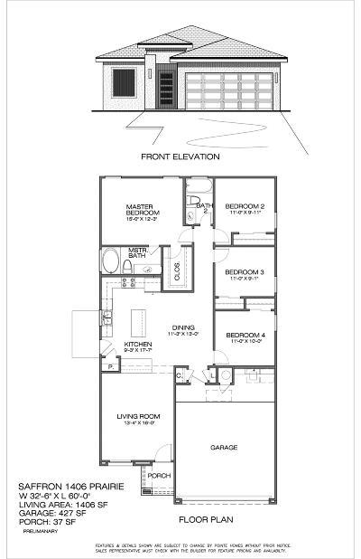 Single Family Home For Sale: 13641 Blackburn