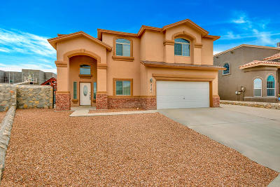 El Paso Single Family Home For Sale: 3101 Tunnel Point Way