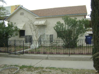 Single Family Home For Sale: 310 N San Marcial Street
