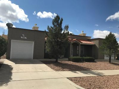 El Paso Single Family Home For Sale: 7576 Le Conte #A &