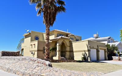 El Paso Single Family Home For Sale: 1421 Cross Ridge Drive
