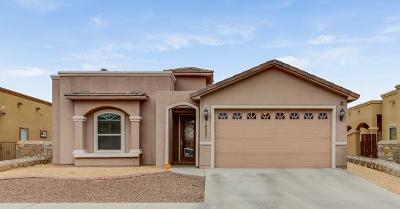 El Paso Single Family Home For Sale: 14257 Craggy Rock Avenue