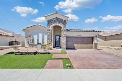 El Paso Single Family Home For Sale: 14545 Tierra Burgos