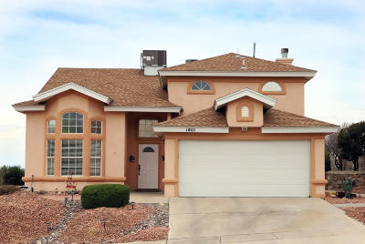 El Paso Single Family Home For Sale: 1401 Arrow Ridge Way
