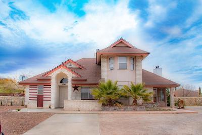 El Paso Single Family Home For Sale: 1561 Nick Faldo Place
