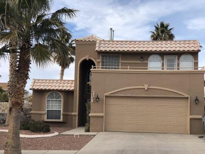 El Paso Single Family Home For Sale: 7107 Desert Jewel Drive