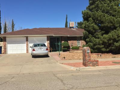 El Paso Single Family Home For Sale: 11241 War Feather Drive