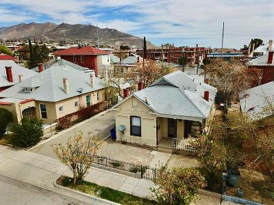 El Paso TX Single Family Home For Sale: $95,000