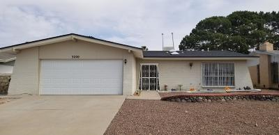 El Paso Single Family Home For Sale: 3220 Slocum Street