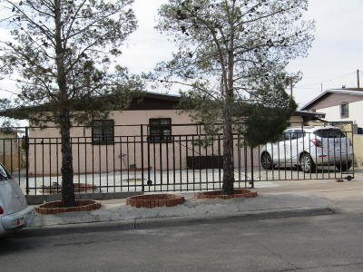 El Paso Single Family Home For Sale: 3010 McKinley Avenue