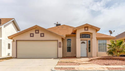 El Paso Single Family Home For Sale: 3604 Alline Place