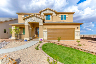 El Paso Single Family Home For Sale: 2182 Enchanted Crest Drive