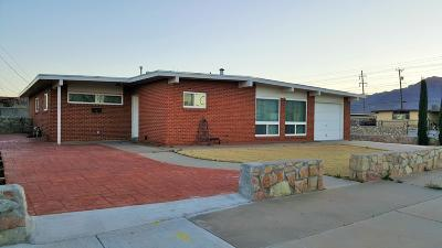 El Paso Single Family Home For Sale: 5100 Wally Drive
