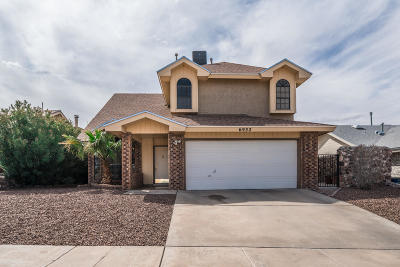 El Paso Single Family Home For Sale: 6932 Echo Cliffs Drive