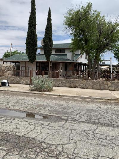 El Paso Single Family Home For Sale: 5100 Pikes Peak Drive