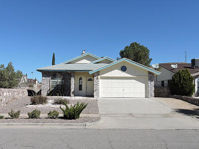 El Paso Single Family Home For Sale: 501 Mogollon Circle Circle
