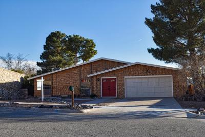 El Paso Single Family Home For Sale: 6904 Polvadera Drive