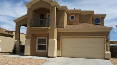 El Paso Single Family Home For Sale: 11528 Charles Boyle Place