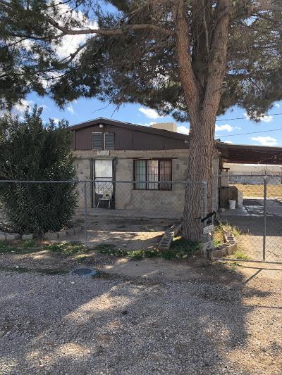 San Elizario Single Family Home For Sale: 1064 Capomo Drive