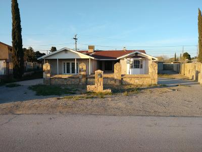 Socorro Single Family Home For Sale: 713 Soya Drive
