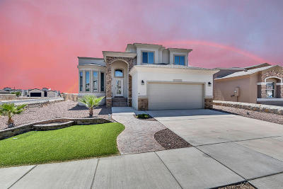 El Paso Single Family Home For Sale: 14569 Tierra Burgos