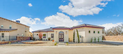 El Paso Single Family Home For Sale: 5441 Dougallan Lane