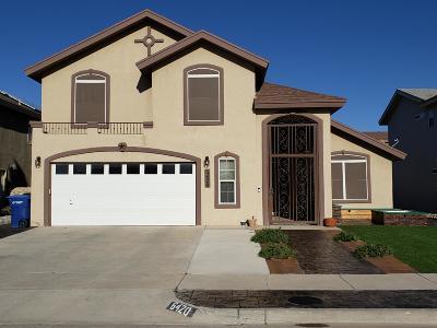 El Paso Single Family Home For Sale: 6420 Berringer Street