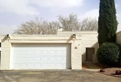Condo/Townhouse For Sale: 15000 Ashford Street #21